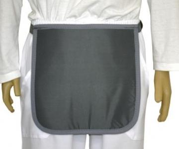 Avental p/ prot. órgãos genitais 30x30cm 0.50mmpb