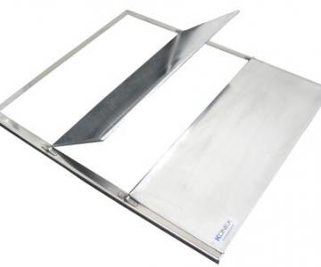 Divisor rad. 35x43cm - 3 posições (escanometria)