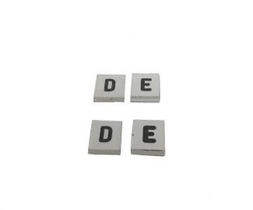 Dístico especial por letra - 06mm
