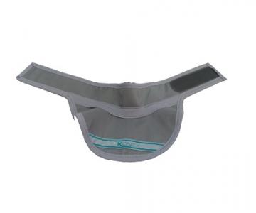 Protetor de tireóide viseira adulto 0,50mmpb