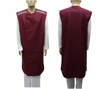 Avental casaco frente 0,50 costas 0,25 110x60cm bp