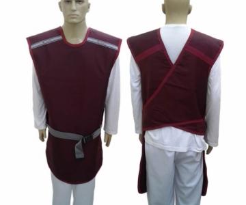 Avental padrão frente 0,50 ombro 0,25 110x60cm bp