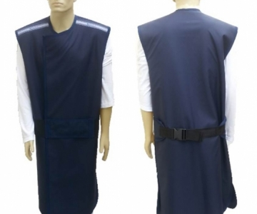 Avental casaco frente 0,25 costas 0,25 110x60cm bp