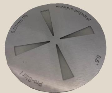 Disp. padrão de resolução pro-star ver.1