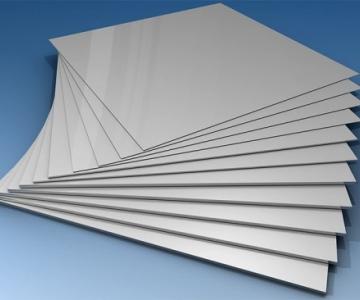 Lâminas de alumínio 100x100mm pureza 99%
