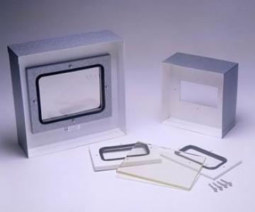 Moldura 50x60cm com vidro 300 x 400 x 8mm 2.0mmpb