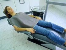 Avental p/paciente adulto curto 0,50mmpb